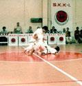 1984 - Dimostrazione M° Kawasoe e M° Yamada