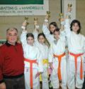 18.02.2007 Qualificazione Campionati Italiani a Cattolica - Campionati Regionali - Katà (FIJLKAM): nel pomeriggio gara bambini.