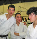 26.03.2006 Campionati Italiani 2006 FEKDA – Padova – Katà da sx: Morotti Mikhail  9° class.- Simoncelli Marco 9° class.- Lombardi Pietro 9° class.