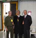 2006 - Padova. Da sinistra: M° Luigi Sabbatini, M° Toiozo Fujioka, M° Claudio Pastore