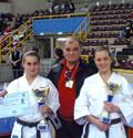 11-03-2007 Campionati Italiani Verona (Fekda):Facchini Laura 1° class. - M° Sabbatini Luigi - Abel Serena 2° class.