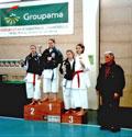18.02.2007 Qualificazione Campionati Italiani a Cattolica - Campionati Regionali - Katà (FIJLKAM): Podio : Benvenuti Giorgia 2° class.- Facondini Noemi 3° class.