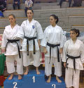 Modena (Carpi) - Qualificazione per i Campionati Italiani - Abel Serena - Kata: 2° classificata