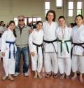 Foto di Gruppo, da sinistra: Amanda Romito, il Maestro Sabbatini, Alice Parma, Federico Abel, Giulia Piselli e Jessica Rossi