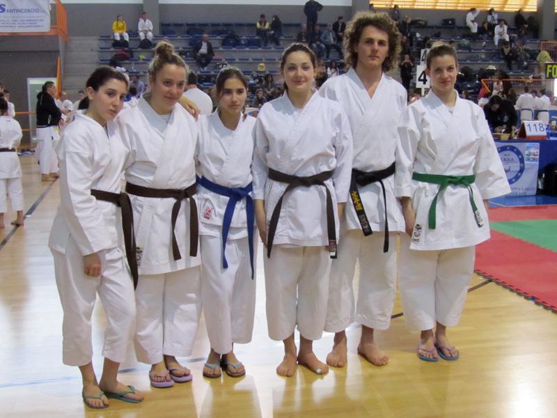 Finali Campionati italiani Karate - 11.03.2012 - Offia, San Bonifacio (VR)