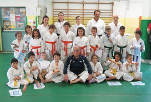 Bambini - Passaggio di Grado - Palestra Karate Cattolica - Scuola Elementare La Repubblica Cattolica29.05.2014