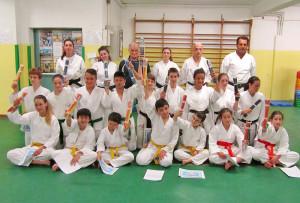 Ragazzi - Passaggio di Grado - Palestra Karate Cattolica - Scuola Elementare Piazza della Repubblica Cattolica 29.05.2014