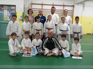 Bambini - Passaggio di Grado - Palestra Karate Cattolica - Scuola Elementare Piazza della Repubblica Cattolica 04.02.2016