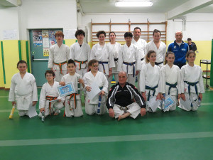 Ragazzi - Passaggio di Grado - Palestra Karate Cattolica - Scuola Elementare Piazza della Repubblica Cattolica 04.02.2016